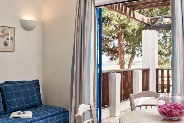 crete family apartments with seaview